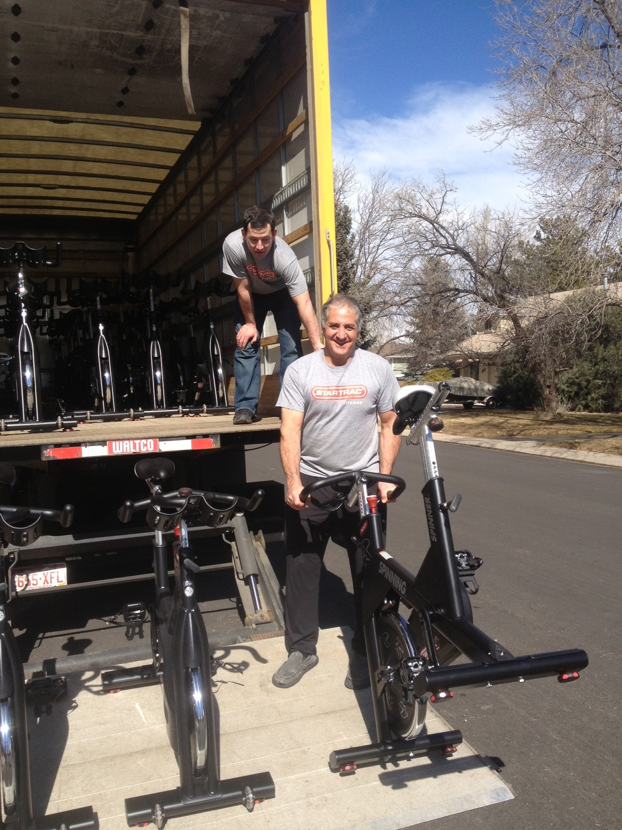 delivery and installation of your fitness equipment