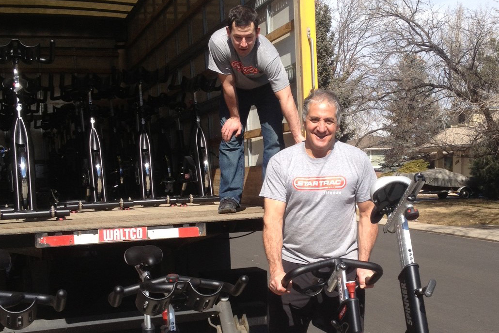 Commercial Exercise Equipment Delivery