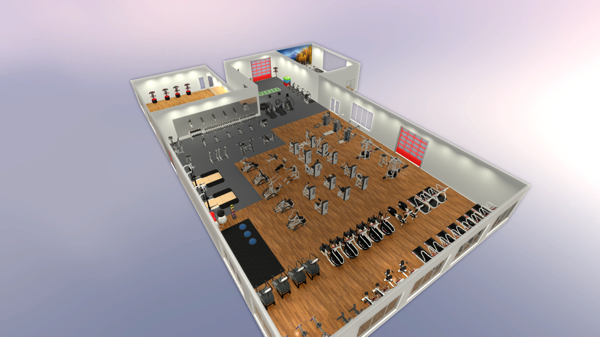 Space Planning Software Fitness Center Design Sport And Fitness Inc