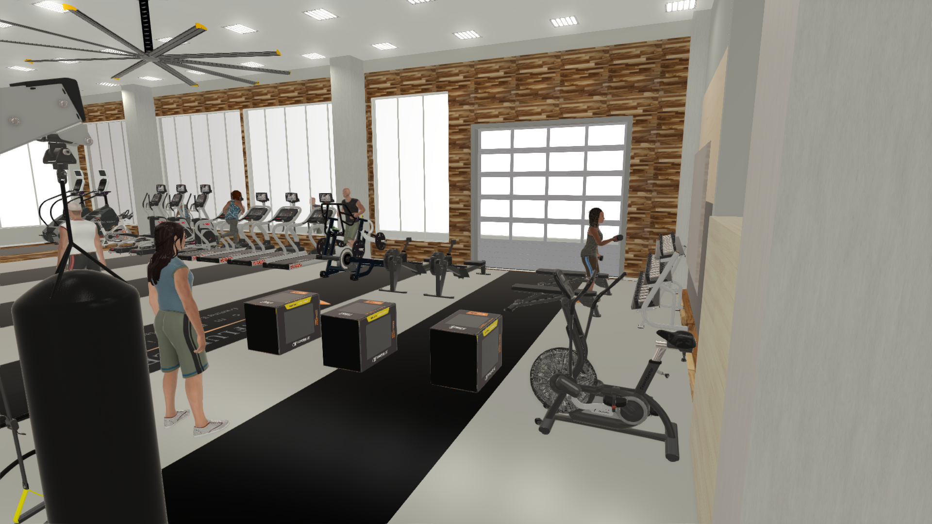 Fitness center design sport and fitness inc.