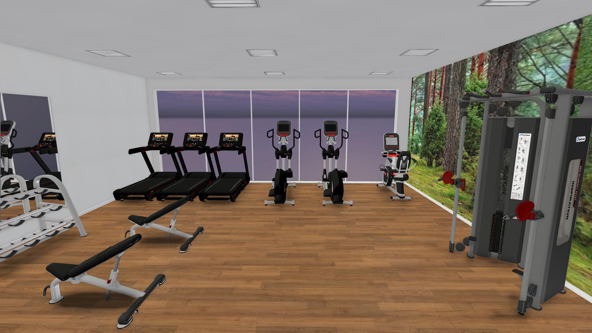 Fitness Center Design - Sport and Fitness Inc